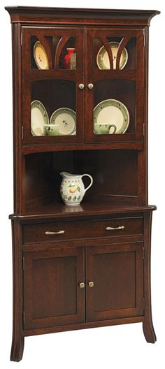 So Perfect Now I Just Need To Find This Hutch CabinetChina CabinetCorner HutchDining RoomsCrockery
