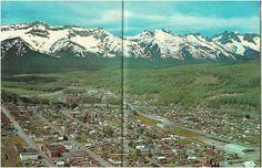 Fernie and BC Hwy 3, from Beautiful British Columbia Magazine, circa 1963.