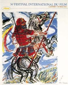 Festival de Cannes 1983 - From a drawing by Akira Kurosawa