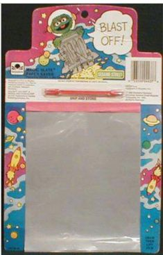 Don't remember what these were called- kind of like an affordable etch a sketch for the masses. And this one has Oscar- Win! 90s Childhood, My Childhood Memories, Great Memories, Cherished Memories, School Memories, Etch A Sketch, Sketch Pad, 80s Kids, I Remember When