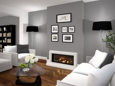 Find out why modern living room design is the way to go! A living room design to make any living room decor ideas be the brightest of them all. Living Room Grey, Small Living Rooms, Living Room Designs, Modern Living, Tiny Living, Living Room Wall Colours, Contemporary Living Room Decor Ideas, Living Room Wall Ideas, Living Room Accent Wall