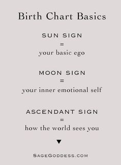 Learn the basics of your Birth Chart: speak to a certified psychic today! www.psychicvop/specialOffer