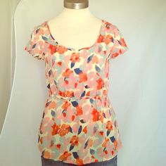 Tulle Cute top in excellent condition no rips or stains Tulle Tops