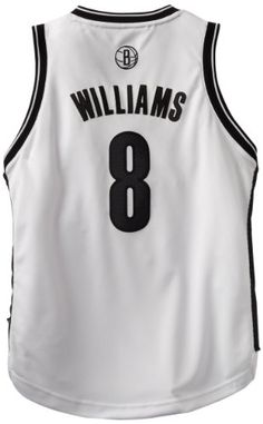 a86db850d2f NBA Brooklyn Nets Deron Williams Youth 820 Swingman Home Jersey Large White      You can get more details by clicking on the image.