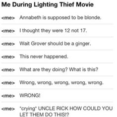 Percy Jackson movie.... Although Uncle Rick din't  have to do anything with the movies ....