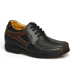 Look for best 2014 Black Casual Suede Leather mens elevator shoes can be height 7cm / 2.75inches with the SKU: MENHJC_121A32-3 at Tooutshoes online store