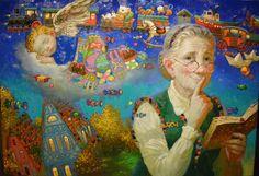 Victor Nizovtsev /Виктор Низовцев, 1965   Fantasy painter   Tutt'Art@   Pittura • Scultura • Poesia • Musica
