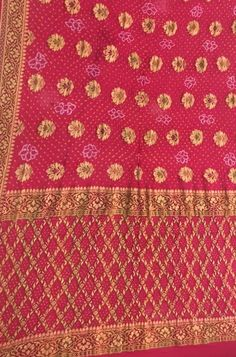 Pure Georgette Sarees, Bandhani Saree, Shah Alam, Buy Sarees Online, Out Of Style, Bohemian Rug, Hand Weaving, Indian, Pure Products
