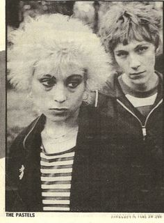 early publicity still of the Pastels. Stephen <3 <3 <3