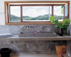 A Panoramic View Bathroom
