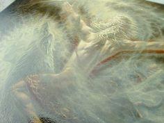 Oleg Korolev | Олег Королёв.  Ivan Tsarevich as Algiz. detail  Oil, Canvas 60x70cm 2013