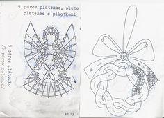 Bildergebnis für bobbin lace angels patterns