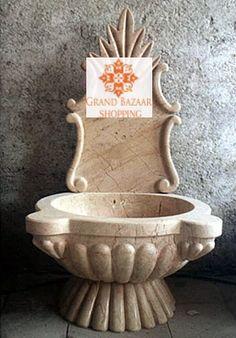 TWO PIECE TURKISH HAMAM SINK, KURNA Turkish Bath, Grand Bazaar, Handmade Shop, Morocco, Decorative Plates, Sink, Gym, Gift Shops, Bazaars