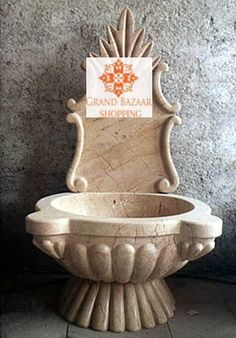TWO PIECE TURKISH HAMAM SINK, KURNA