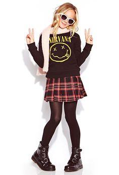 Nirvana Sweatshirt (Kids) | FOREVER21 girls - 2000072342