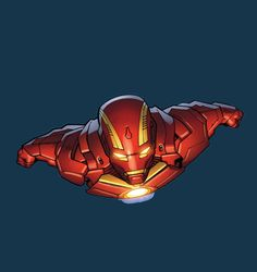 Iron Man Armor Model 45 (Deep-Space Armor) by Greg Land