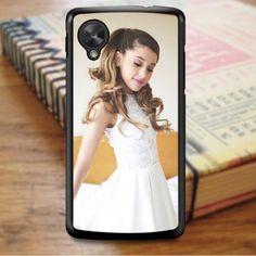 Ariana Grande Beautiful Hair Nexus 5 Case Nexus 5 Case, Ariana Grande, White Dress, Flower Girl Dresses, Slim, Wedding Dresses, Beautiful, Collection, Fashion