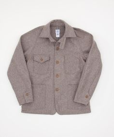 Post Overalls Wool Melton Engineers Jacket