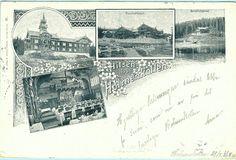 Kristiania Christiania Oslo Hilsen fra Holmenkollen utg Abels forlag brukt 1900