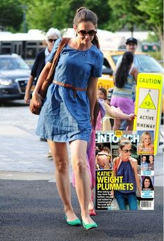 Katie Holmes Feels Bullied: Her Weight Plummets (Photo)