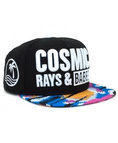 NEFF Cosmic Snapback cap Black