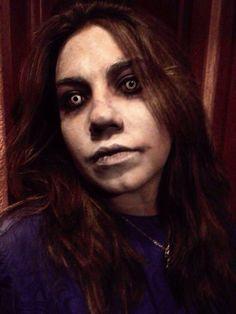 Maquillaje exorcista halloween