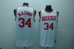 http://www.yjersey.com/nba-houston-rockets-34-hakeem-olajuwon-white-jerseys.html Only$34.00 #NBA HOUSTON #ROCKETS 34 HAKEEM OLAJUWON WHITE JERSEYS Free Shipping!