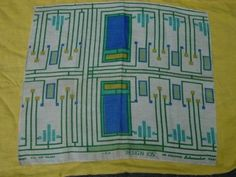 RARE-FRANK-LLOYD-WRIGHT-ARTS-CRAFTS-TEXTILE-SALESMAN-SAMPLE-FOR-SCHUMCHER-CO