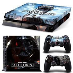 Ake Skins Game Decals Vinyl Sticker Decal für Playstation 4 PS4 Console and Controllers - for Star Wars battlefront No.1727