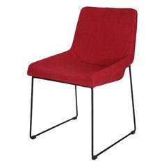 Der rote Esszimmerstuhl setzt tolle Akzente! ab 119,95€ ♥ Hier kaufen: http://www.stylefru.it/s477522 #stuhl #rot #esszimmer