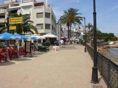 The delightful small town of Alcossebre on the Costa Azahar 'The Orange Blossom Coast' is a popular holiday destination for Spanish and French families Alcossebre's  Promenades