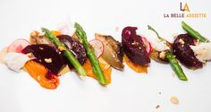 Theo Michaels : Roasted vegetable salad https://labelleassiette.co.uk/blog/266th-validated-chef-theo-michaels/