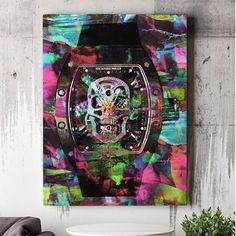 Richard Mille Skeleton watch print by @mayfaireditions   via LUXURY LIFESTYLE MAGAZINE OFFICIAL INSTAGRAM - Luxury  Lifestyle  Culture  Travel  Tech  Gadgets  Jewelry  Cars  Gaming  Entertainment  Fitness