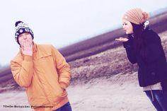 #boy #girl #kiss #friend #road #winter Winter Hats, Winter Jackets, Canada Goose Jackets, Kiss, Photography, Fashion, Winter Coats, Moda, Photograph