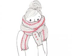 Preparing for snowfall. From www.mylittleparis.com