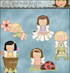 little girl fairies:)