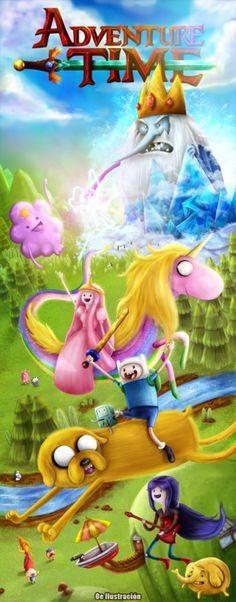 eatsleepdraw:    Adventure TimeOe Ilustracion  Facebook