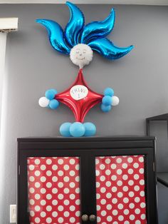 Thing 1 Dr. Seuss Balloon
