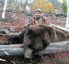 Un-freakin-believeable. Hunting bear with a recurve?