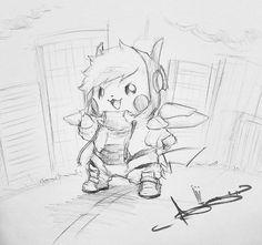 Artist: Itsbirdy | Pokemon | Pikachu | Baymax