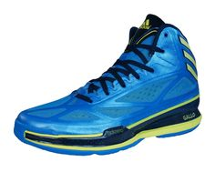 best website fc1ed ce05c NEW adidas Adizero Crazy Light 3 Mens Basketball Sneakers  Shoes - Blue -  G98709