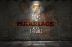 Do you know the signs that your marriage may need help? Here are 7 signs to let you know it is time for some outside counsel. Marriage Help, Saving Your Marriage, Marriage And Family, Marriage Advice, Relationship Advice, Relationships, Career Aptitude Test Free, Vacations To Go, Paying Off Credit Cards