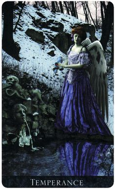 Temperance - Bohemian Gothic Tarot