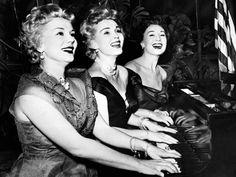 Gabor Sisters - 1954. Eva, Zsa Zsa, Magda