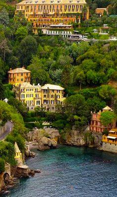 Portofino Italy √ http://en.wikipedia.org/wiki/Portofino