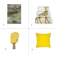 Hello Yellow! Hot new picks for a bright and cheery Global room.