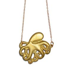 Octopus Necklace now featured on Fab.
