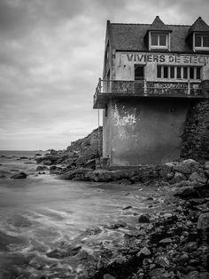 photo en Finistère, Bretagne et...: fin d'été léonard #3 : marée haute à l'aube au Dossen (8 photos)