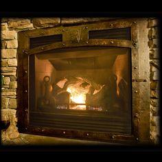 Ironhaus Selway European Heritage Gas Fireplace Doors Image
