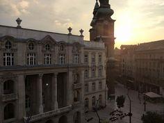 Sunset from the window Budapest, Uni, Louvre, Windows, Sunset, Luxury, Building, Modern, Travel